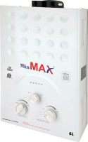View Min Max 6 L Gas Water Geyser(Ivory, Super) Home Appliances Price Online(Min Max)