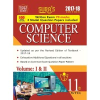 11th Standard (New Pattern) Computer Science Volume I & II Exam Guide 2017 with Model Question Papers(English, Paperback, K.P. Senthil Kumar)