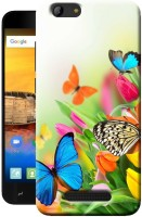 Snazzy Back Cover for iVooMi Me3S(Multicolor, Silicon)