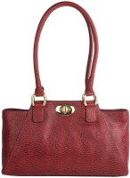 Hidesign Hand-held Bag(Red)