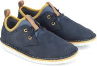 Clarks Boys Lace Sneakers(Blue)