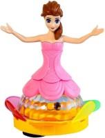 MN OVERSEAS MUSICAL DANCING 3D LIGHT ROBOT DOLL FOR KIDS(Multicolor)