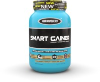 BIG MUSCLES Smart Gainer 2.2 Lbs (Strawberry) Weight Gainers/Mass Gainers(2.2 pounds, Strawberry)