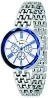 Ismart Womens & Girls Analog Wrist Watch Black Smartwatch(Silver Strap 8)