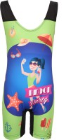 MITUSHI PRODUCTS Swimwear Graphic Print Girls Swimsuit