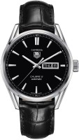 TAG Heuer WAR201A.FC6266 Carrera Automatic Black Leather Watch  - For Men