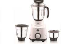 BMS Lifestyle Eco with 3 Jars 600 Juicer Mixer Grinder(White, Black, 3 Jars)
