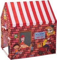 Aaryan Enterprise My Pizza Shop Tent House For Kids (Multicolor)(Brown)