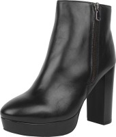 DELHI DERBY DELHI DERBY Boots For Women(Black)