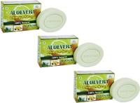 AryanShakti Aloevera Lemon Soap   100% natural(225 g, Pack of 3)