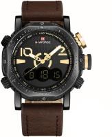 Naviforce 9094 Men Sport Military Watches Quartz Analog Digital Wrist Watch Watch  - For Men