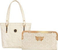 Louise Belgium Hand-held Bag(White)