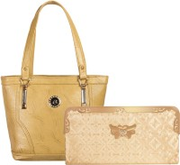 Louise Belgium Hand-held Bag(Beige)