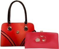 Louise Belgium Hand-held Bag(Red)