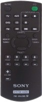 LipiWorld RM-ANU089 Compatible For Sony Home Theater System Remote Controller Remote Controller(Black)
