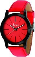 Ismart Women & Girl Red Wrist Watch Red Smartwatch(Red Strap 1)