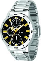 Ismart Mens & Boys Formal Wrist Watch White Smartwatch(Silver Strap 1)