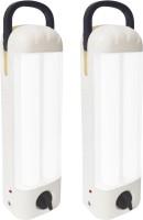 View Eye Bhaskar 5017 Long Twin Tube (Set of 2) Rechargeable Emergency Lights(White, Black) Home Appliances Price Online(Eye Bhaskar)