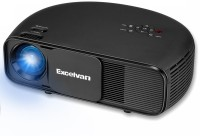MBOX Excelvan CL760 HD 3200 Lumens Home Cinema 1280 x 800 Native 3200 lm LCD Corded Portable Projector(Black)