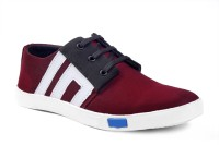 Red Rose Sneakers For Men(Red)