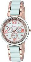 Ismart Womens & Girls Analog Wrist Watch Pink Smartwatch(Multicolor Strap 1)