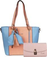 Luvoksi Shoulder Bag(Blue, Pink)