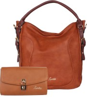 Luvoksi Shoulder Bag(Tan)