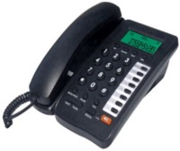 View Binatone Concept 800 Corded Landline Phone(Black) Home Appliances Price Online(Binatone)