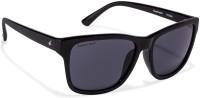 Fastrack Retro Square Sunglasses(Black)