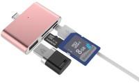 iKraft iK-TypeCSmartReader-RoseGold Card Reader(Rose gold)