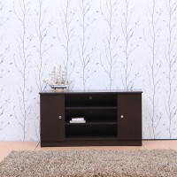 FULLSTOCK Classy Engineered Wood Display Unit(Finish Color - Wenge)