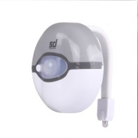 View Smiledrive Toilet Seat Motion Sensor LED Light Emergency Lights(White) Home Appliances Price Online(Smiledrive)