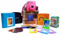 Fujifilm Instax Mini 9 Flamingo Pink Festive Pack Instant Camera(Pink)