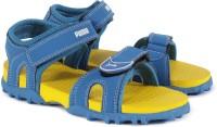 Puma Boys & Girls Velcro Flats(Blue)