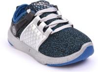 Campus Boys Lace Walking Shoes(Blue)