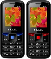 I Kall K16 Combo Of Two Mobile(Blue, Red) - Price 1599