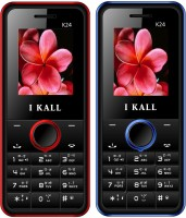 I Kall K24 Combo Of Two Mobile(Red, Blue) - Price 1099 31 % Off