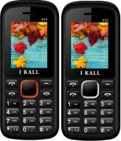 I Kall K55 Combo Of Two Mobile(Orange, White) - Price 1199 25 % Off