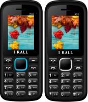 I Kall K55 Combo Of Two Mobile(Blue, White)