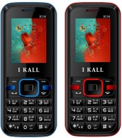 I Kall K14 Combo Of Two Mobile(Red, Blue) - Price 1599