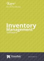 Pinsoftek Kare®- The Easiest Inventory Management Software 10 user