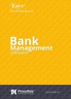 Pinsoftek Kare®- The Easiest Bank Management Software 10user