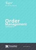 Pinsoftek Kare®- The Easiest Order Management Software-5user