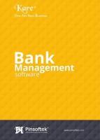 Pinsoftek Kare®- The Easiest Bank Management Software 5user