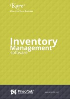 Pinsoftek Kare®- The Easiest Inventory Management Software 5 user