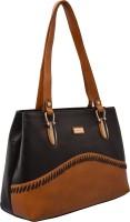 JFL-Jewellery For Less Women Brown PU Shoulder Bag
