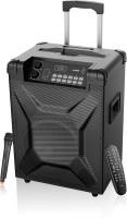 F&D 'T2' Trolly Speaker 30 W Bluetooth Home Theatre(Black, 2.1 Channel)