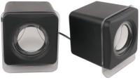 View Outre E018/E028 Wired Multimedia USB 2.0 Mini Portable Laptop/Desktop Speaker(Black, 2.0 Channel) Laptop Accessories Price Online(Outre)