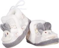 Chinmay Kids Baby Booties Booties(Toe to Heel Length - 12 cm, Grey)