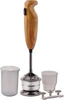 King Mix K_Wood_Brown 250 W Hand Blender(Brown)